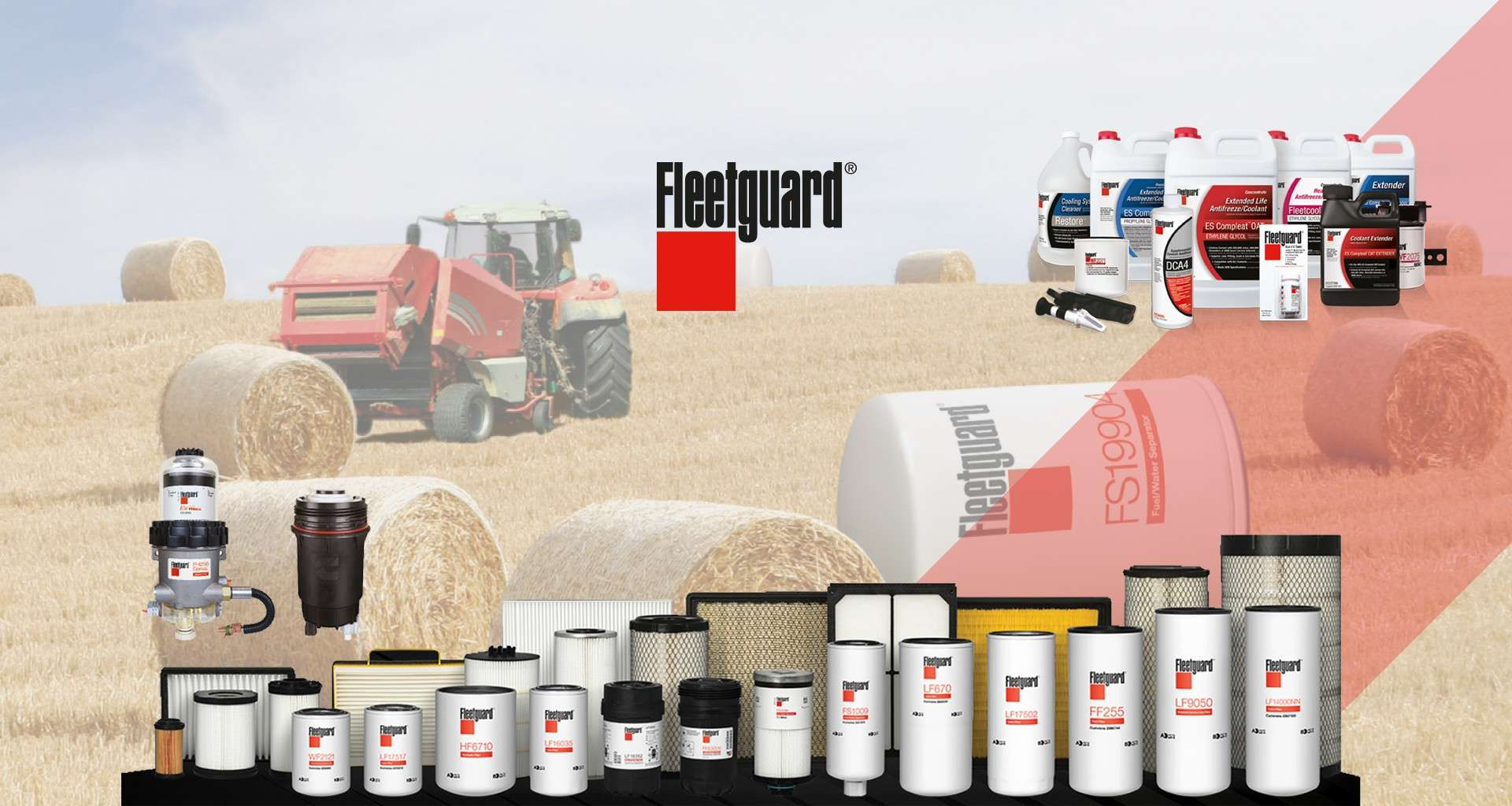 Fleetguard Filters Provide Superior Performance